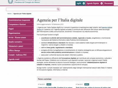 Agency For Digital Italy
