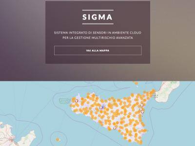 PON Sigma. Sistema Integrato Di Sensori In Ambiente Cloud Per La Gestione Multirischio Avanzata
