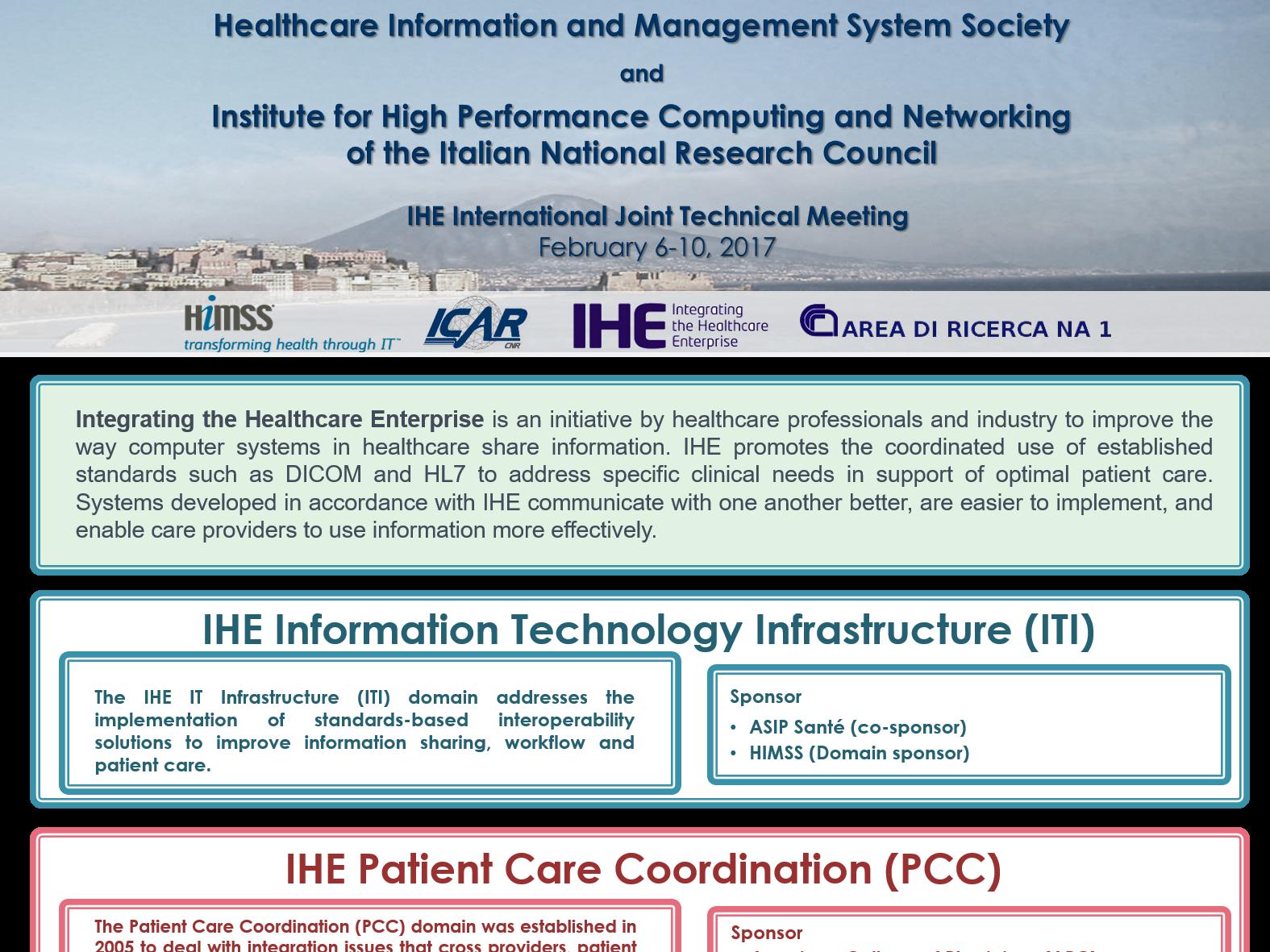IHE International Joint Technical Meeting