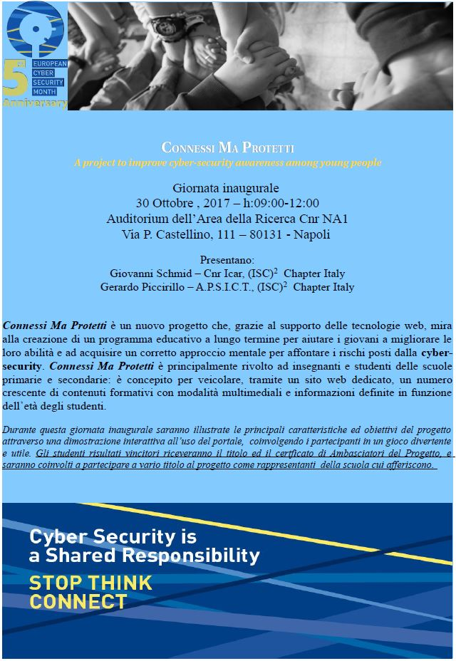 Connessi Ma Protetti – A Project To Improve Cybersecurity
