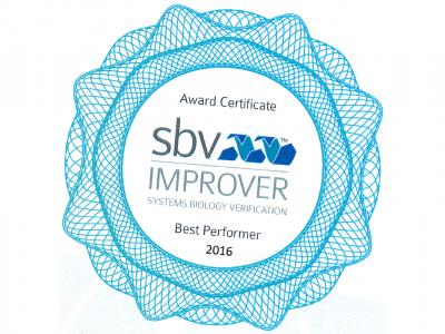Migliore Prestazione Nella Sfida Tossicologia Computazionale Sbv IMPROVER Systems
