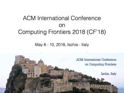 ACM International Conference On Computing Frontiers 2018 (CF'18)
