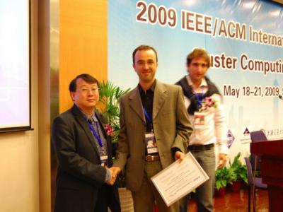 Miglior Articolo @CCGrid 2009