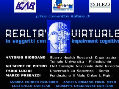 Convention: Realtà Virtuale In Soggetti Con Impairment Cognitivo