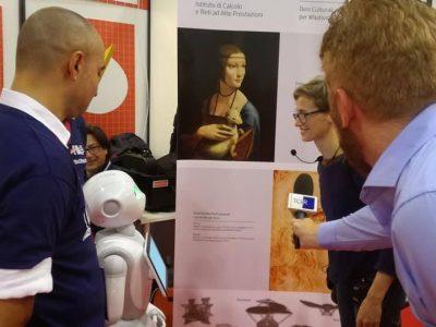 Grande Successo Dell'Icar A Maker Faire 2018 – European Edition