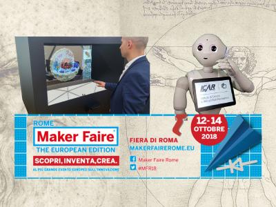 A Maker Faire 2018: AI4museum-beni Culturali Per #natividigitali