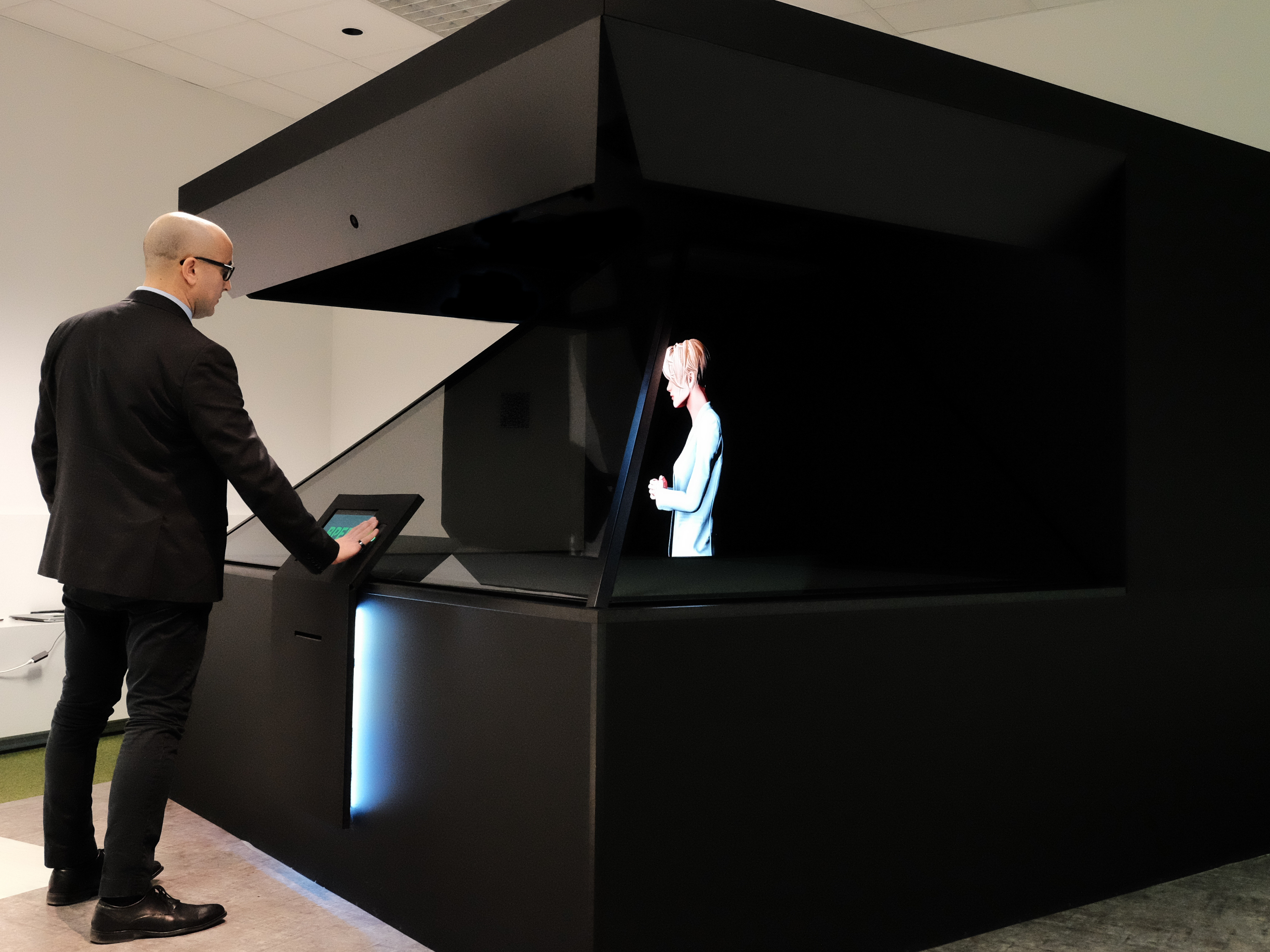 CNR-ICAR E BPER Banca Portano AI, Computer Vision E Modelli 3D Umanoidi Nella Filiale Del Futuro: Una Nuova Esperienza Di Banca