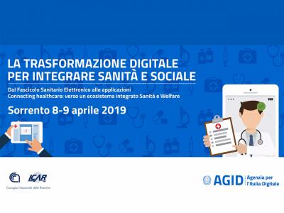Workshop: La Trasformazione Digitale Per Integrare Sanità E Sociale