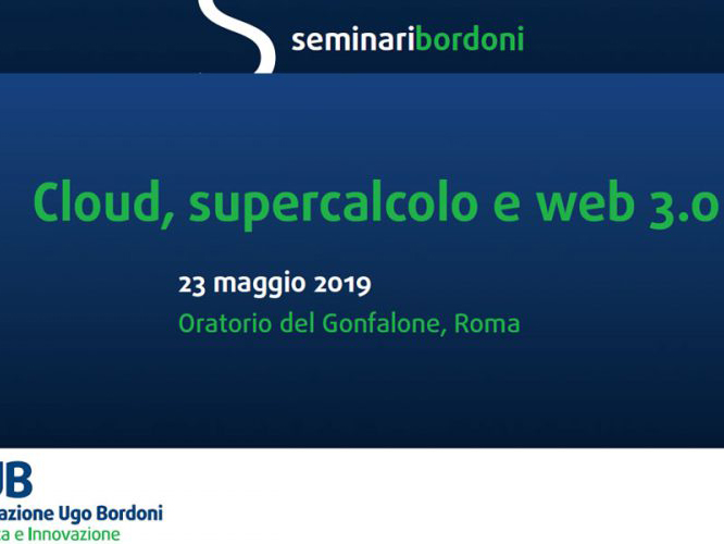 Cluod distribuito supercalcolo e web 3.0