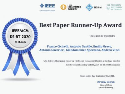 Best Paper Runner-up