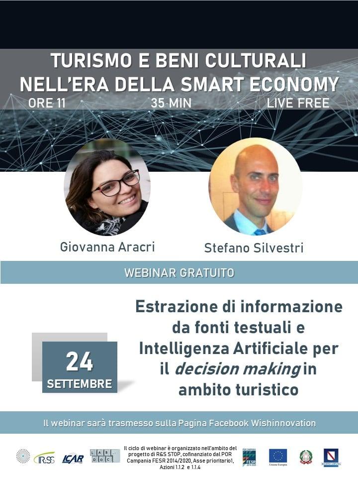 Webinar: Turismo E Beni Culturali Nell'era Della Smart Economy