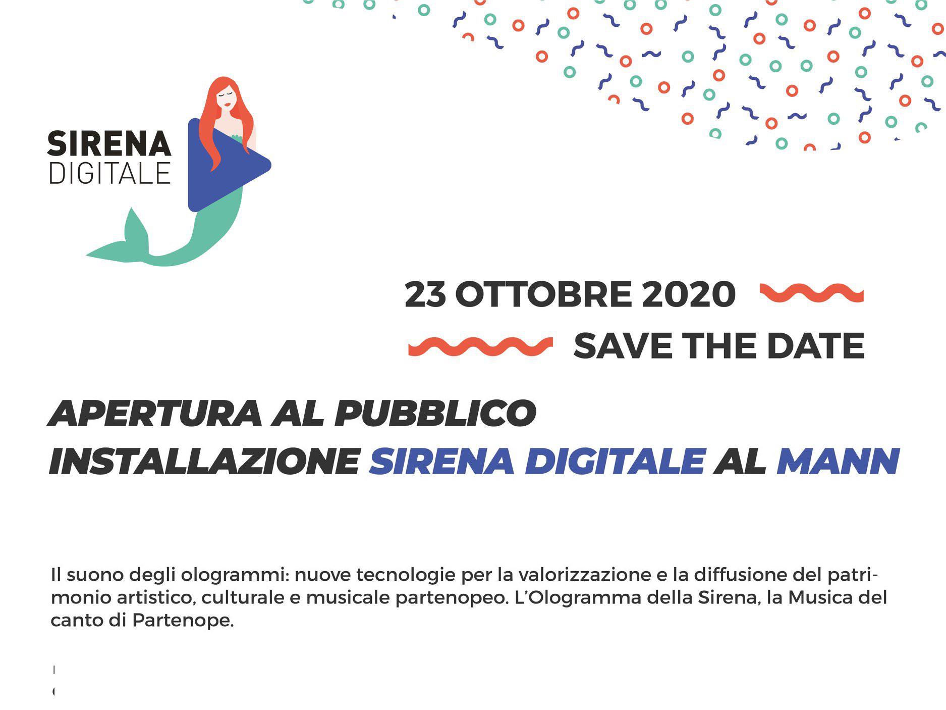 Installazione Sirena Digitale Al MANN