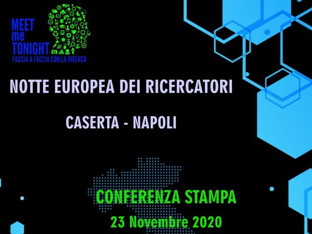 Conferenza stampa Notte Europea dei Ricercatori 2020 ed. campana