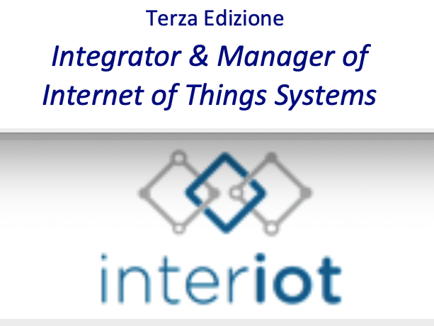 Master Universitario Di II Livello INTER-IoT